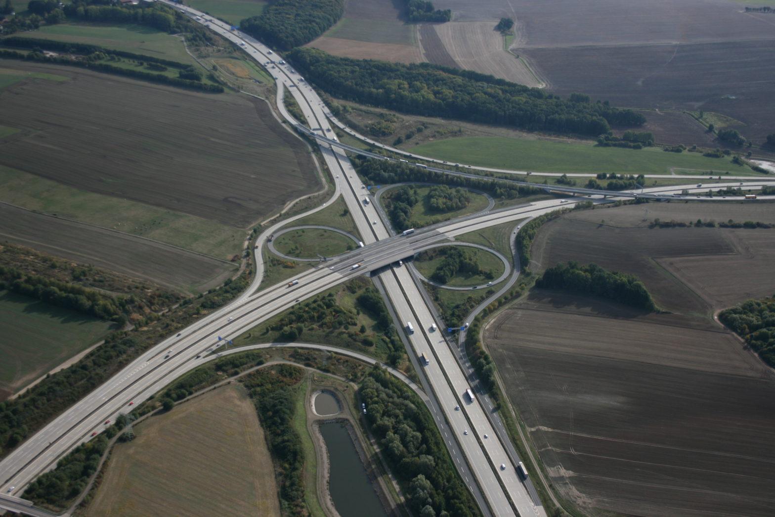 Autobahnkreuz Chemnitz