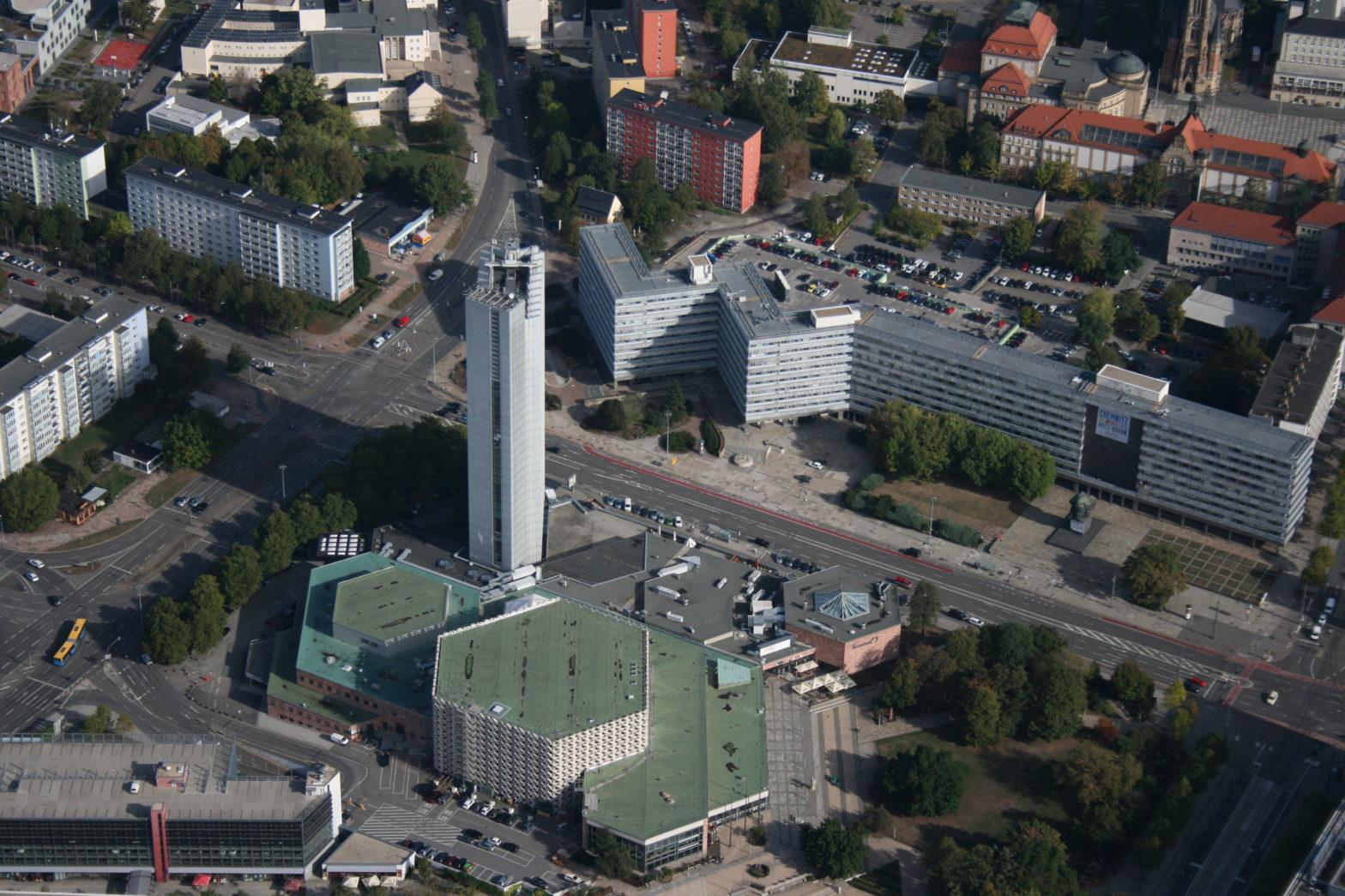 Stadthalle und Hotel Kongress