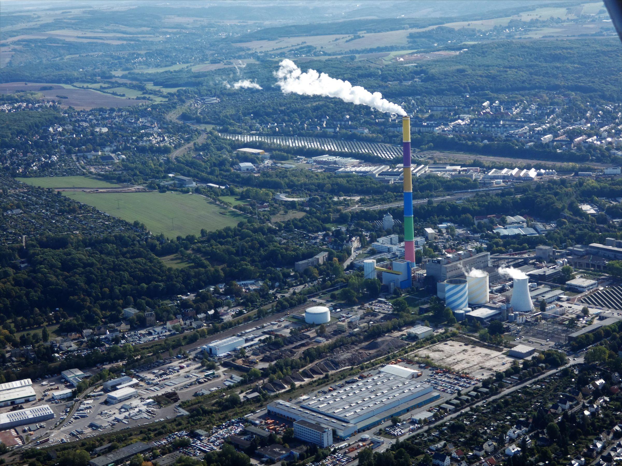 Chemnitz, Heizkraftwerk Nord