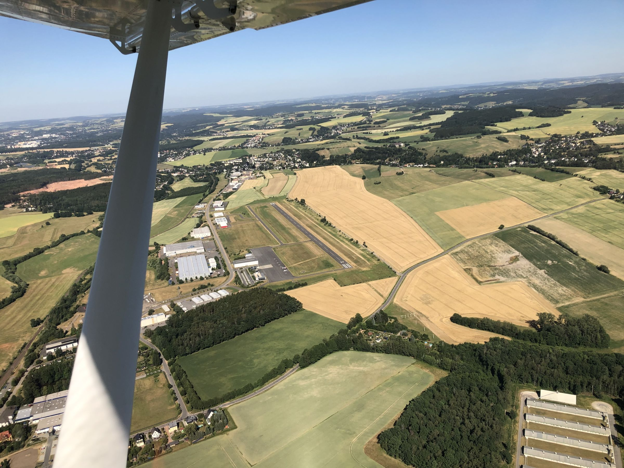 Flugplatz Chemnitz-Jahnsdorf