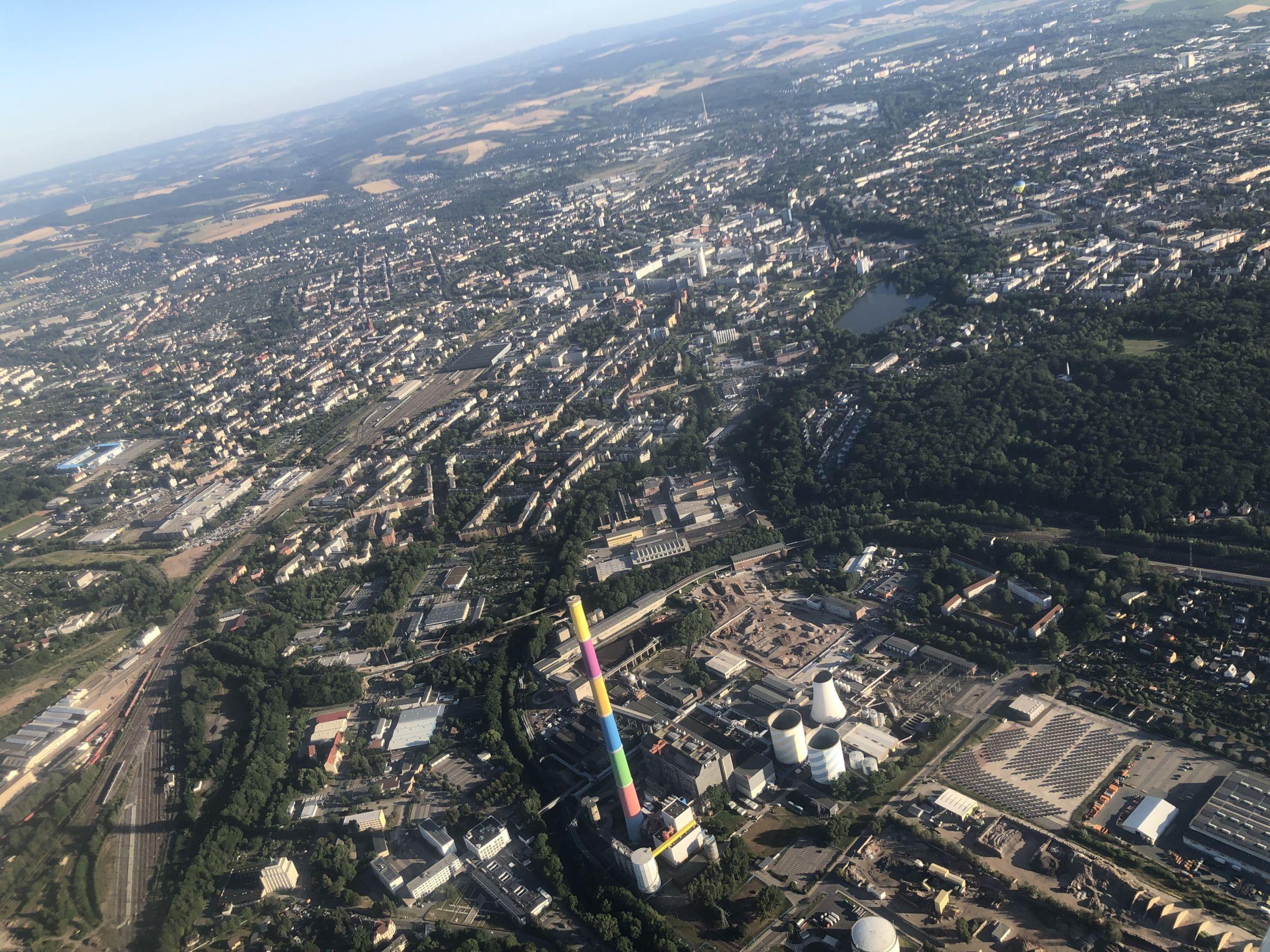 Chemnitz, Panorama